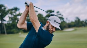 Dustin Johnson swing