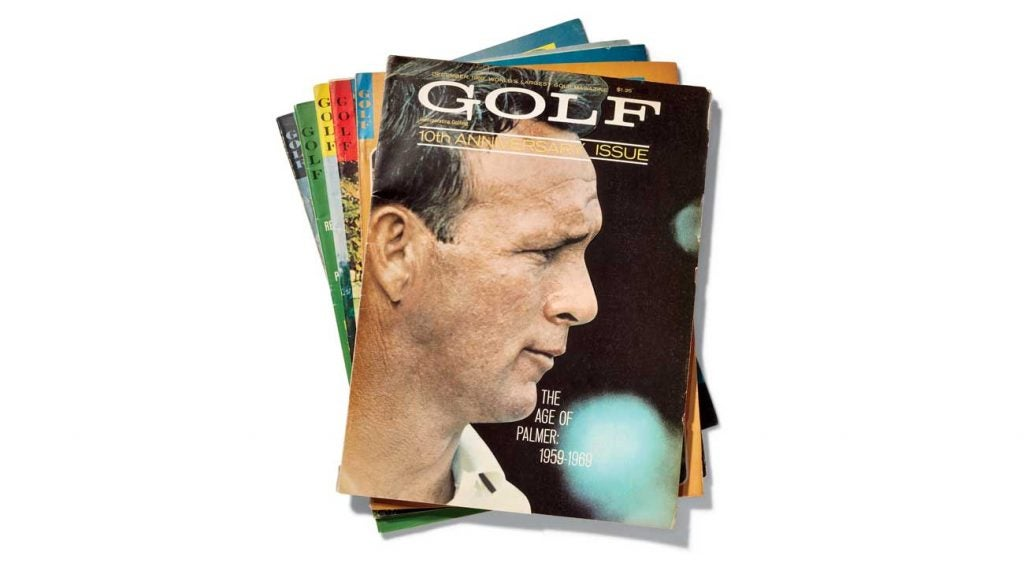 """""""Amid the yells of 'Yea, Arnie,' Palmer achieved a rapport with the crowd that may never be matched in golf."""" -"""