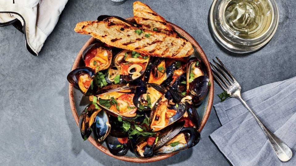 Cabot Links mussels