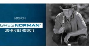 Greg Norman is introducing a new line of CBD products.