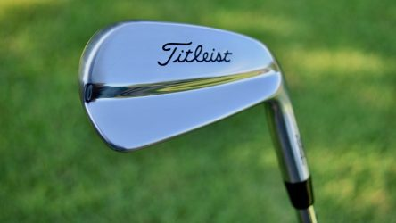 Justin Thomas added Titleist's 620 MB irons during the Safeway Open.