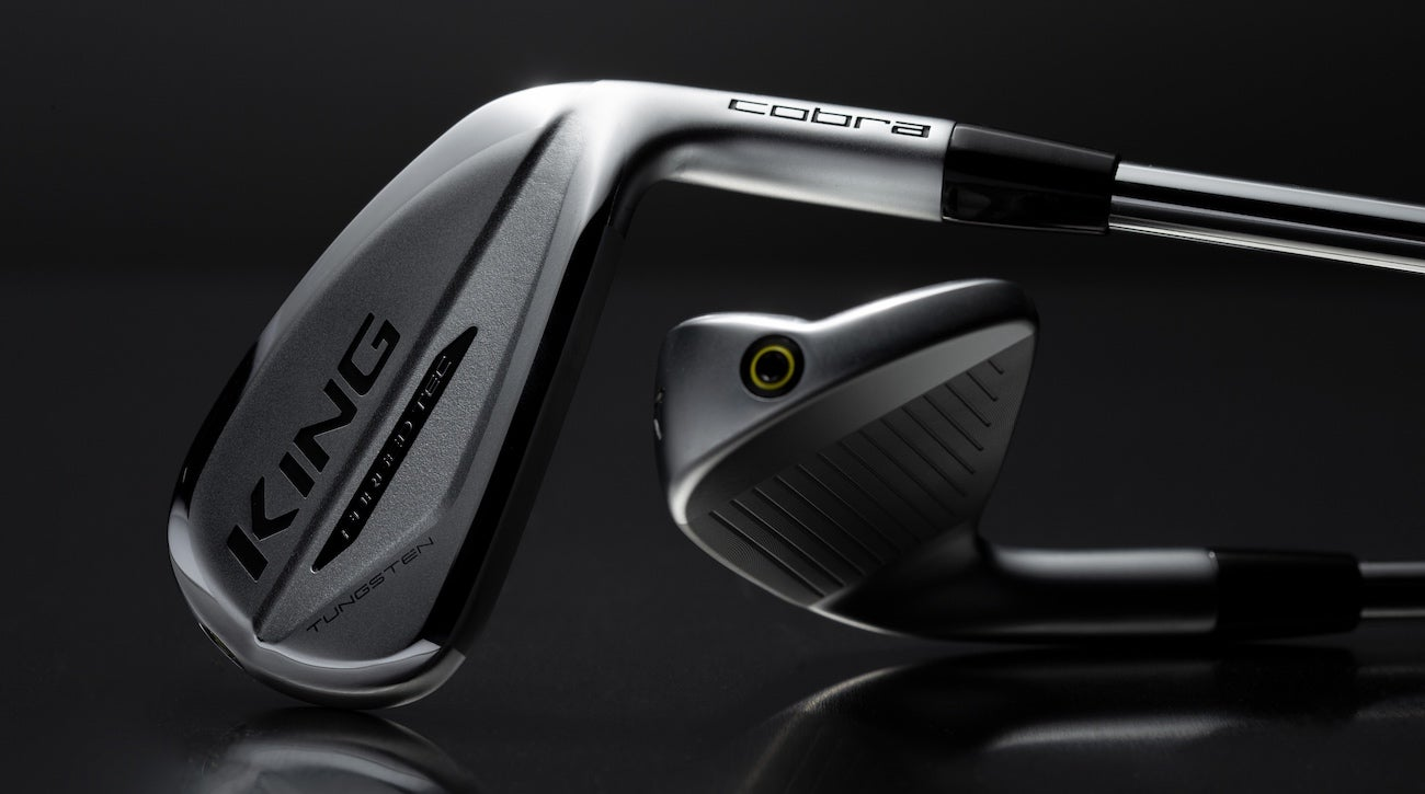 Cobra's King Forged Tec iron has foam microspheres inside the cavity that tune acoustics.