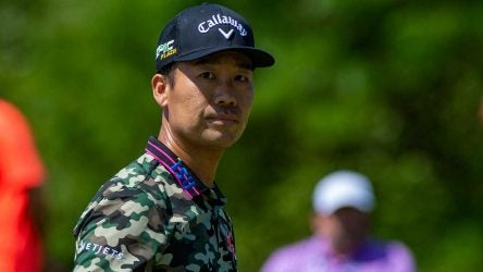 Kevin Nat looks on at The Northern Trust in 2019.