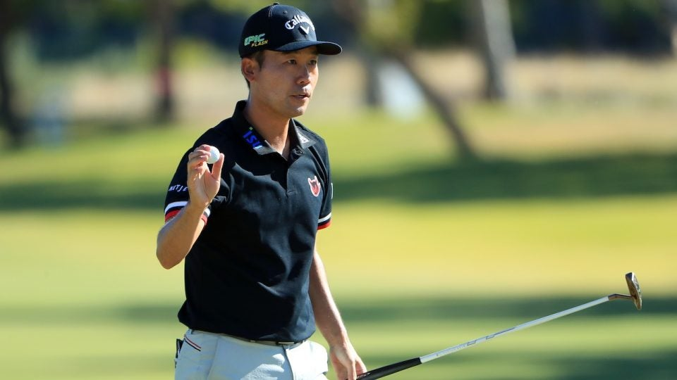 Kevin Na set a record for feet of putts made in a PGA Tour event (558 feet, 11 inches) at the Shriners Open.