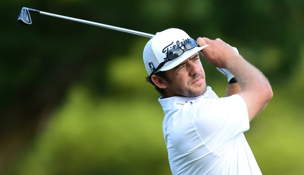 Lanto Griffin doesn't waste time winning with a new set of Titleist irons.