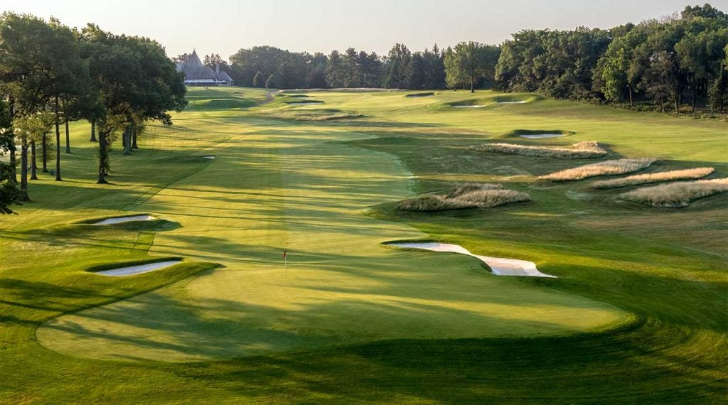 The opening hole at Mountain Ridge Country Club in New Jersey.