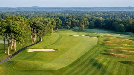 The 10th hole at Mountain Ridge Country Club in New Jersey.