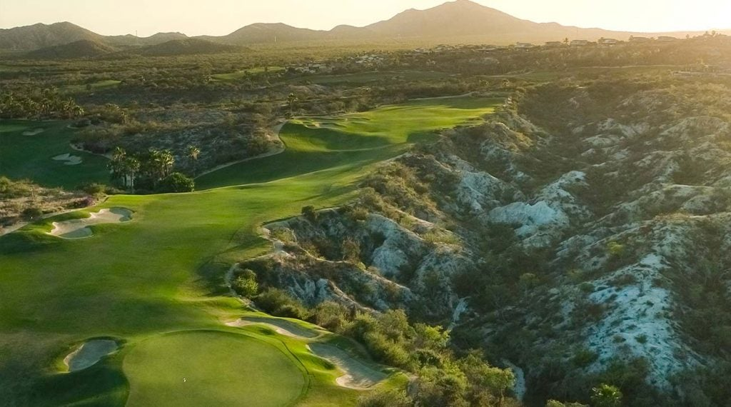 Querencia's Tom Fazio-designed golf course is ranked among the best in Mexico.