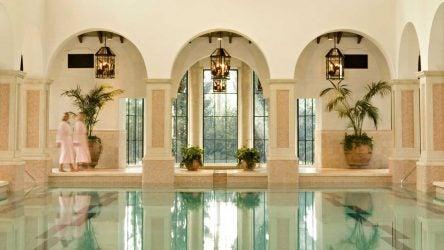 Sea Island indoor pool