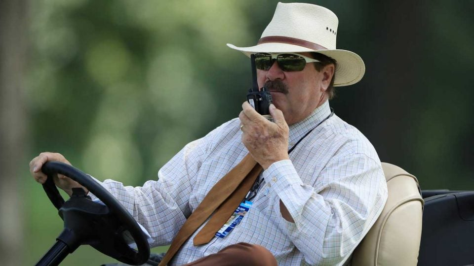 """Slugger White says slow play is """"all we talk about all day long."""""""