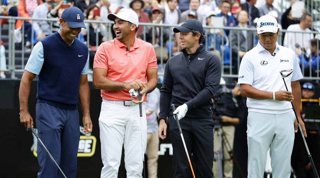 The Japan Skins Challenge brought together a star-studded foursome.