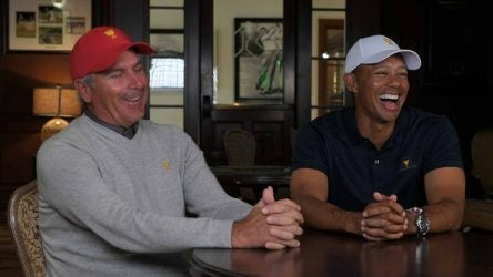 Fred Couples will serve as one of Tiger Woods' assistant captains at December's Presidents Cup.