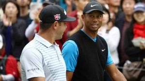 Gary Woodland got a chance to make his case in front of Tiger Woods at the Zozo Championship.