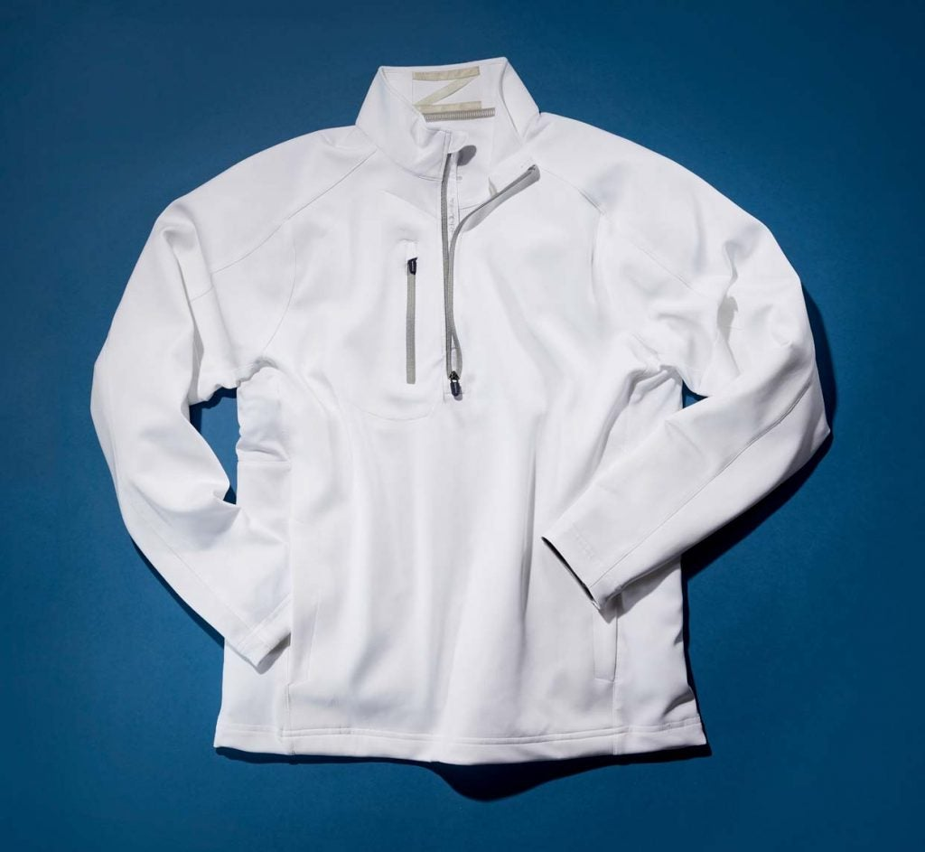 Zero Restriction Z500 1/4 Zip pullover.