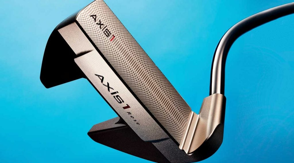 The Axis1 Rose Proto putter has transformed Justin Rose's game on the greens.