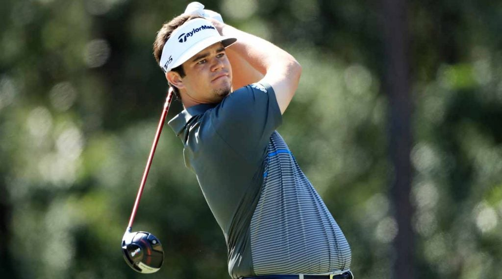 Beau Hossler will have a chance to capture his first PGA Tour victory Sunday at the Houston Open.