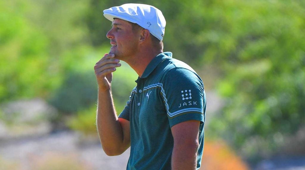 Bryson DeChambeau recently revealed he's taking time off to put on weight and get stronger.