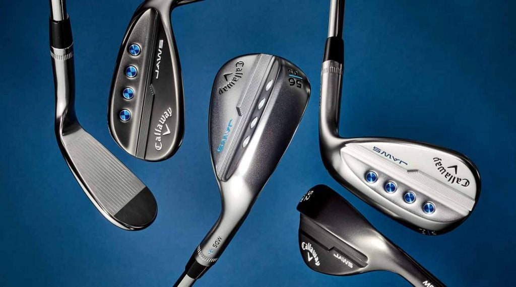 Callaway's MD5 Jaws wedges are all about the grooves.