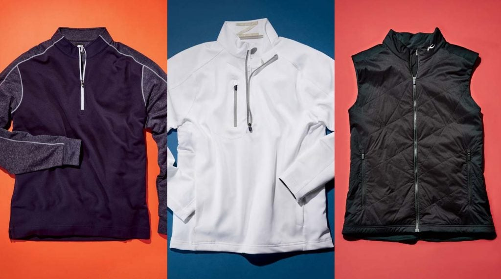 See below to learn about these three jacket options for staying warm on the course.