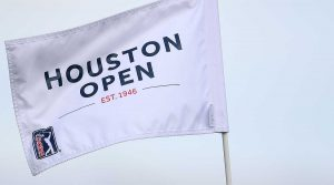 A Houston Open flag.