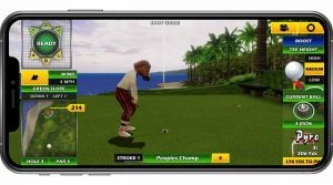 Golden Tee, famously in bars and arcades, is coming to a phone near you.