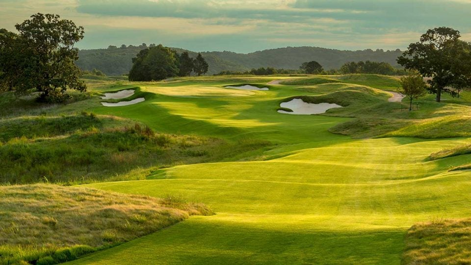 A look at Ozarks National at Big Cedar Lodge. A Tiger Woods-designed course is opening on the property in 2020.
