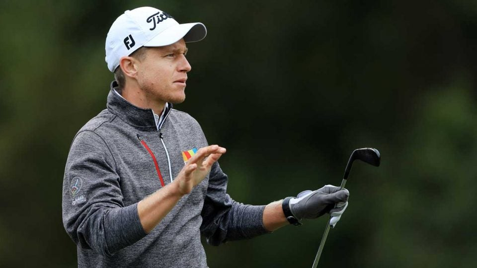 Peter Malnati during second round of 2019 Houston Open