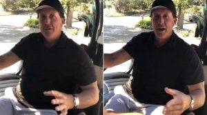 Phil Mickelson talks about getting kicked out of class