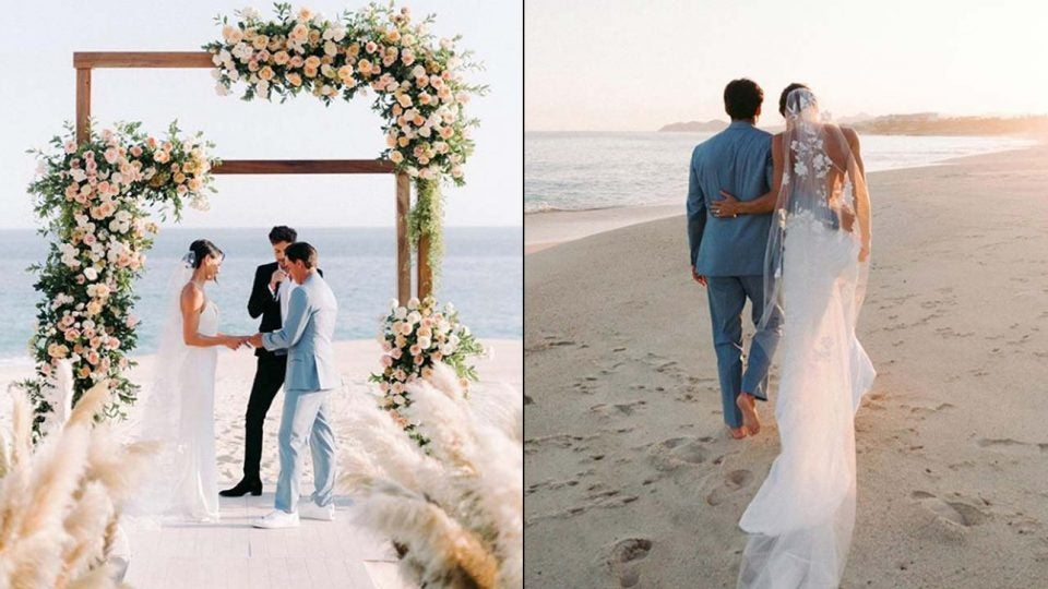 Rickie Fowler and Allison Stokke were married last week in a secret ceremony.