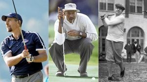John Smoltz, Michael Jordan and Babe Ruth.