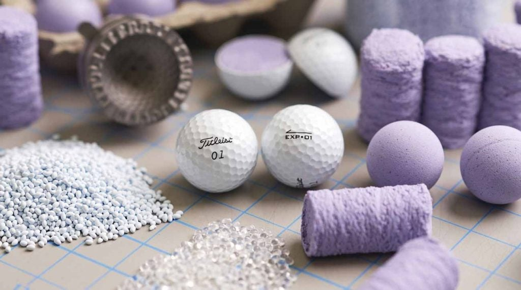 Titleist's EXP-01 golf ball is an experimental product.