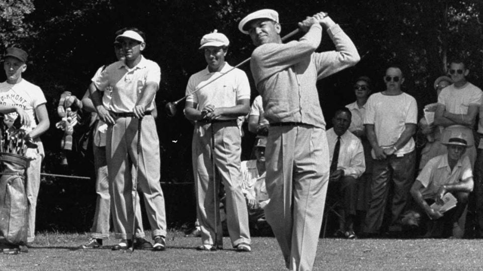 Ben Hogan at the 1953 U.S. Open at Oakmont.