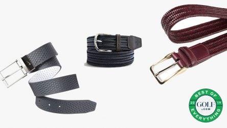 best of golf belts