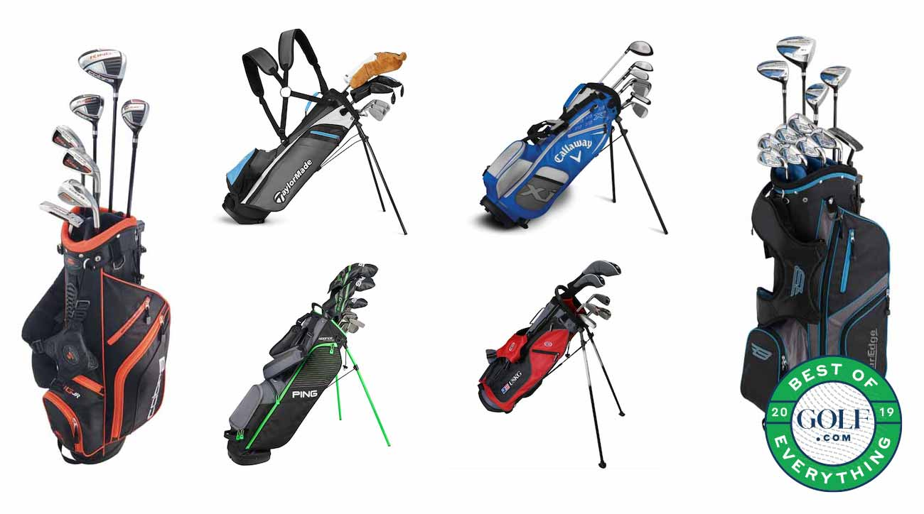 When it comes to shopping for junior golf clubs, we've got your back.