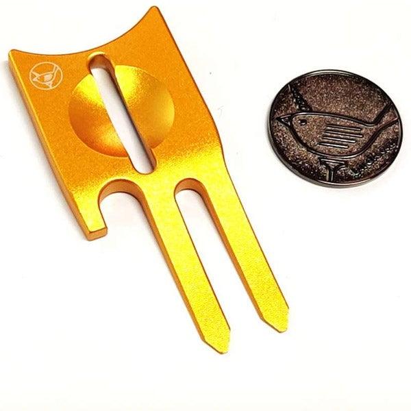 Birdicorn 6-in-1 golf divot repair tool