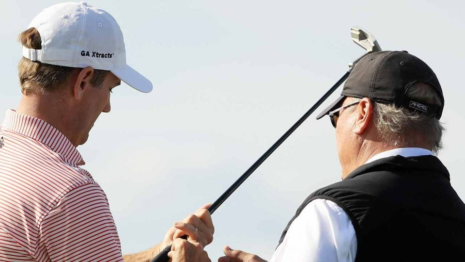 Brendon Todd was worried about playing with a non-conforming club during Saturday's third round at the RSM Classic.