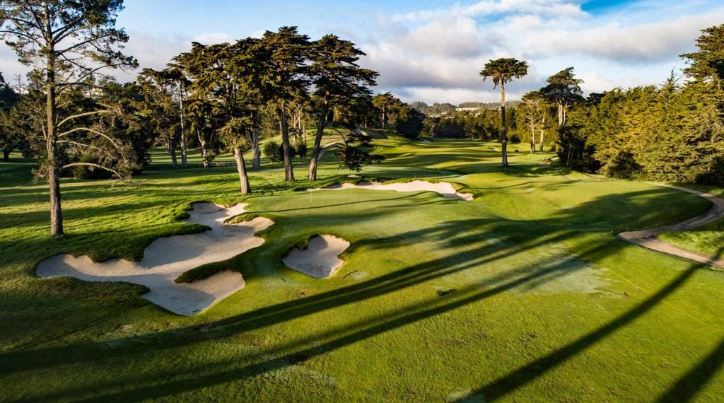 The California Club of San Francisco is now ranked No. 50.