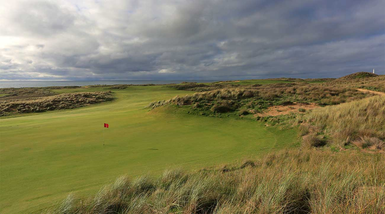 The 6th hole at Cape Wickham on King Island.