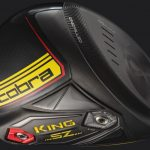 """Cobra's King Speedzone driver features a CNC milled """"infinity"""" face."""