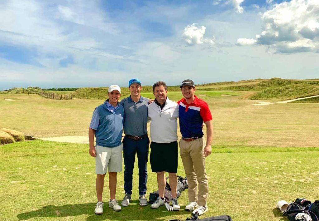 Corballis Golf Links made for a fantastic finale.