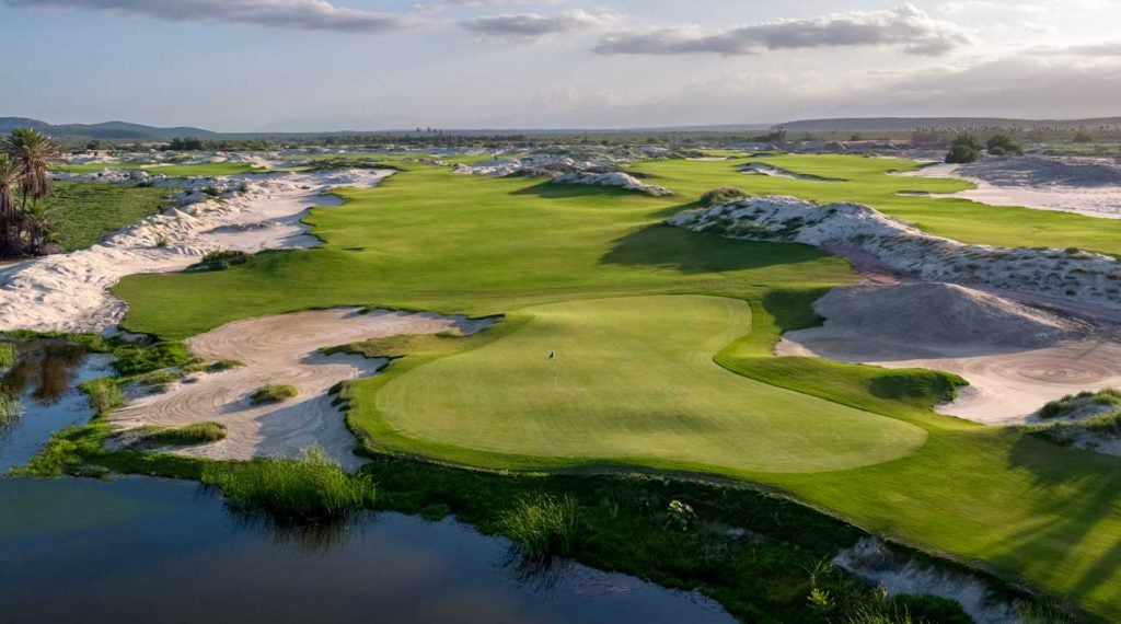 The links-inspired layout at Costa Palmas is meant to be easily walkable.
