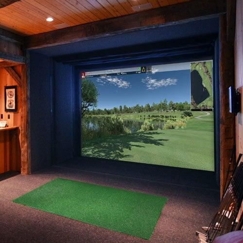 Full Swing Pro Series Widescreen golf simulator