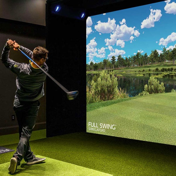 Full Swing Sports Series Simulator