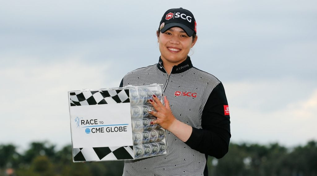 Ariya Jutanugarn was the big money winner in 2018.