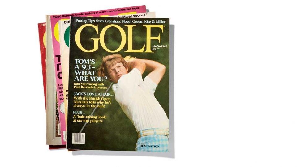 Golf 60th anniversary 1980s