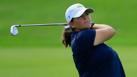 Kendall Dye was penalized at Q-School Series and then shouldered the blame on Twitter.