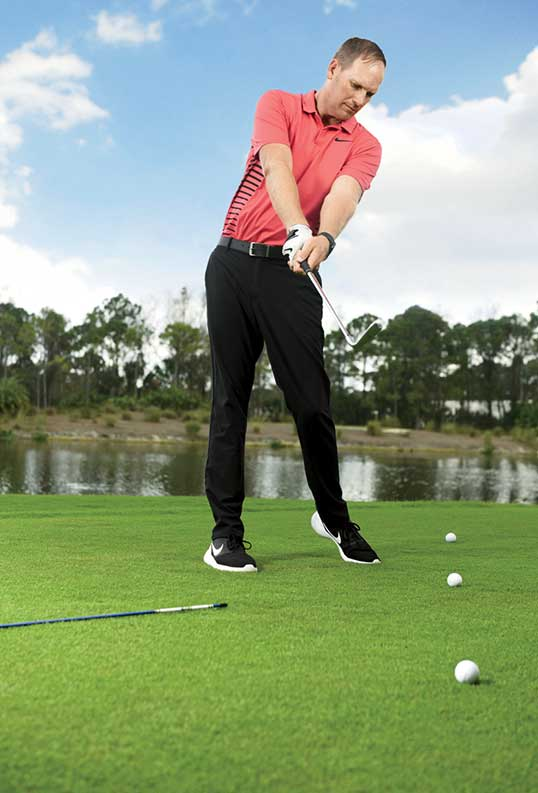 Connect the dots to add a smooth draw to your golf game.