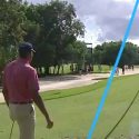 Matt Kuchar made an ace at the par-3 8th hole on Sunday.
