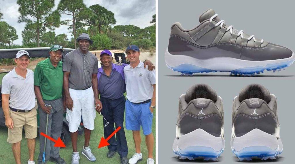 jordan 11 concord golf shoes for sale