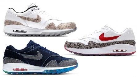 Nike Golf announced three new Nike Air Max 1 G NRG golf shoe models on Friday.